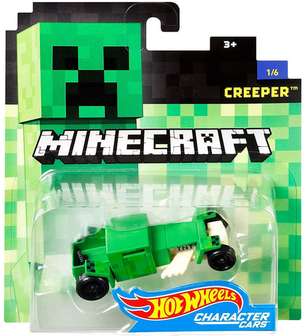 Hot Wheels Minecraft Character Car