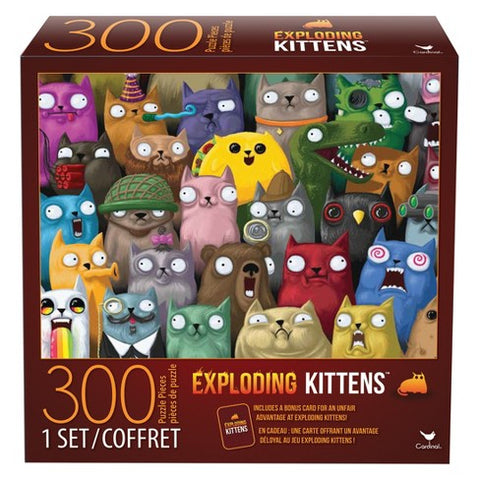 300 PC Exploding Kittens-1 set