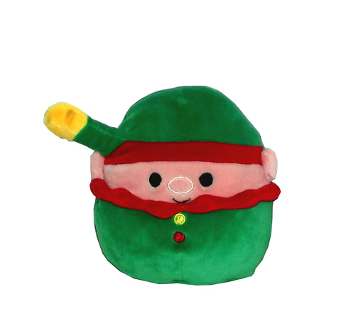 Kellytoy Squishmallows Christmas Pillow Plush Toy, 5 inches