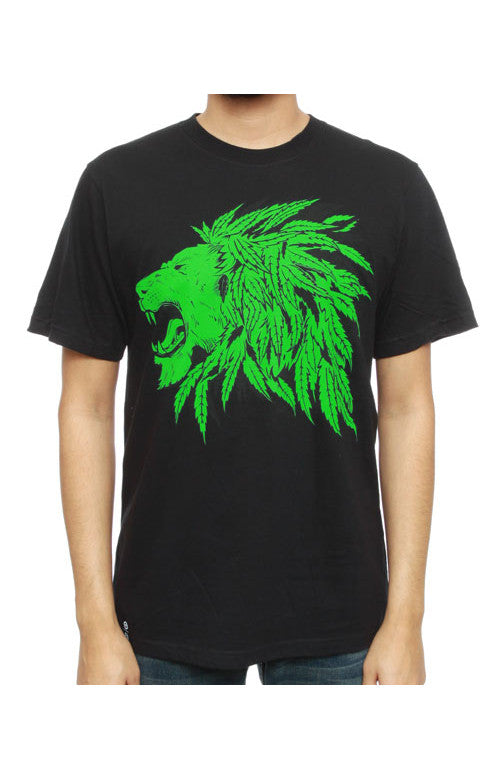 LRG Chiefly Lion Mens Black Shirt