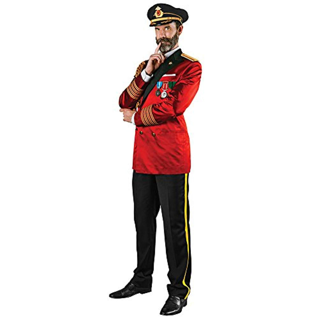 Franco American Novelty Company Captain Obvious Mens Costume