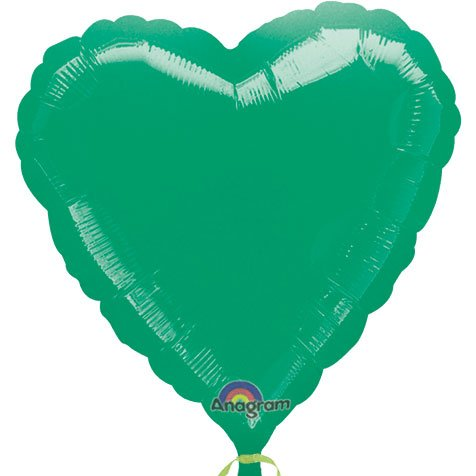 Anagram International Heart Foil-Flat-Balloon