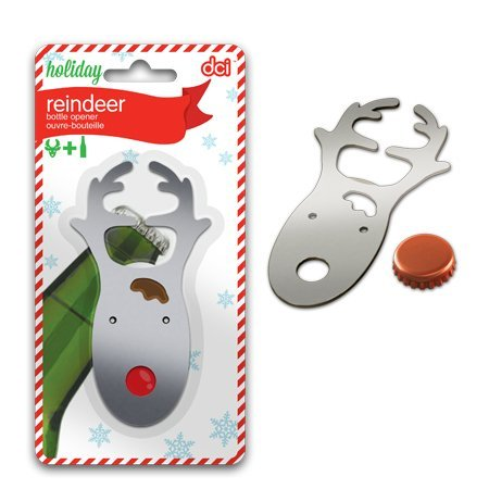 1 X DCI Holiday Reindeer Bottle Opener