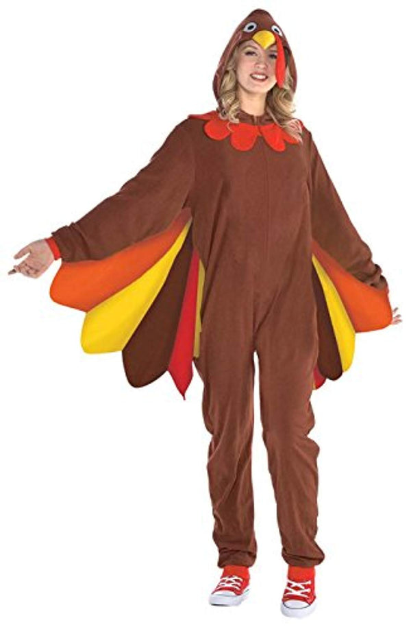 Amscan Turkey Zipster Womens Adult Costume