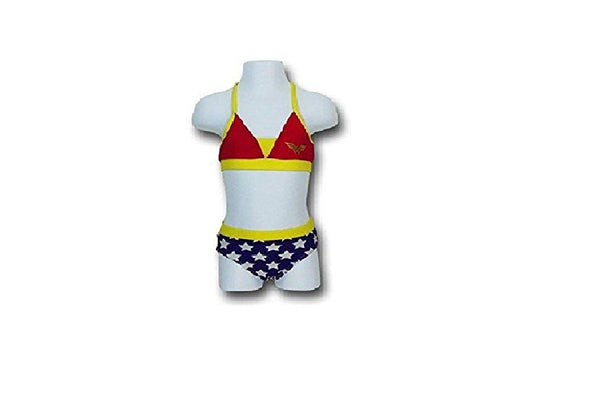 Wonder Woman Toddler (2T-4T) 2pc Binkini Swimwear (4T)