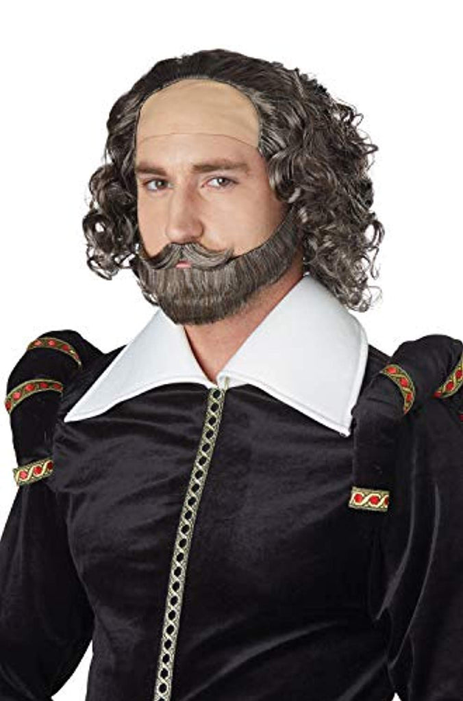 California Costumes Shakespeare Adult Wig-