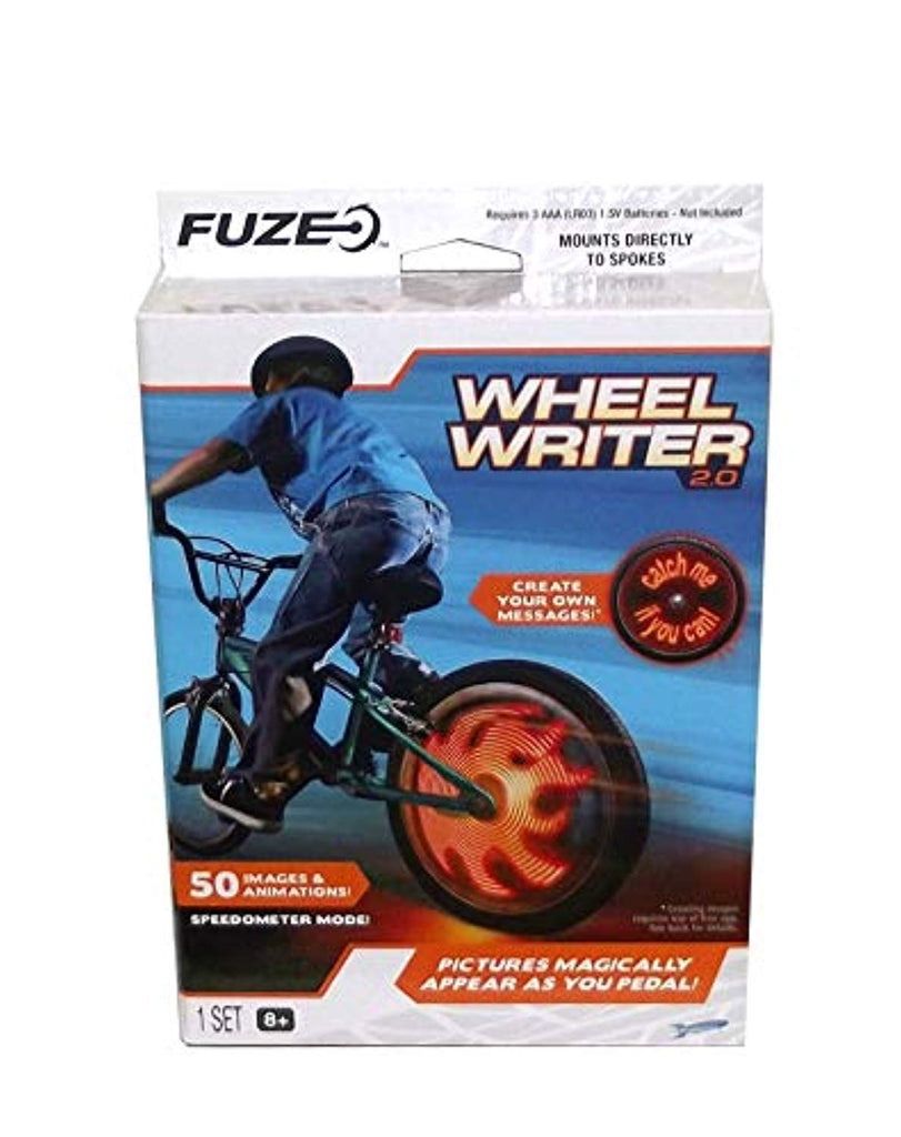 Fuze Wheel Writer 2.0 LED Bicycle Accessory, 1 Count