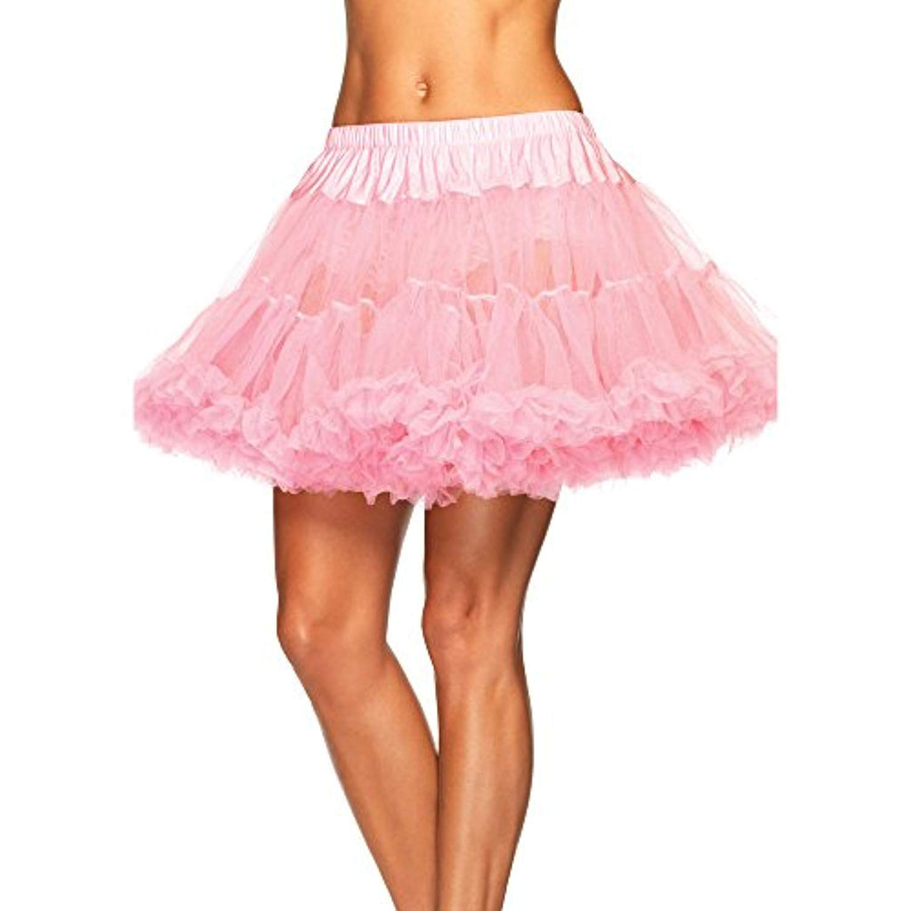 Light Pink Layered Tulle Petticoat - Womens One Size 6-12