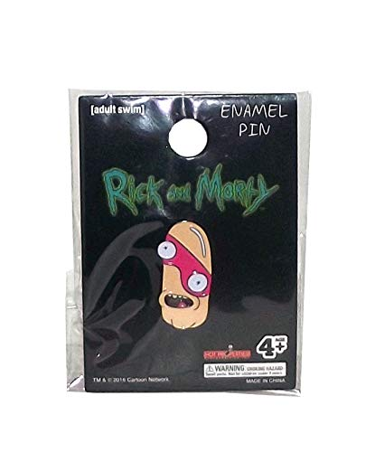 Adult Swim Rick and Morty Enamel Pin