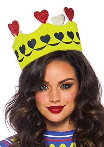 Leg Avenue Women's 3 PC Card Queen Costume