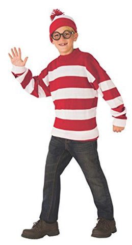 Rubies Wheres Waldo Deluxe Childs Costume