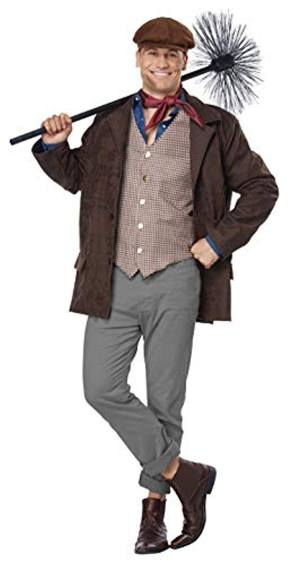 California Costumes Chimney Sweep Plus Size Costume-