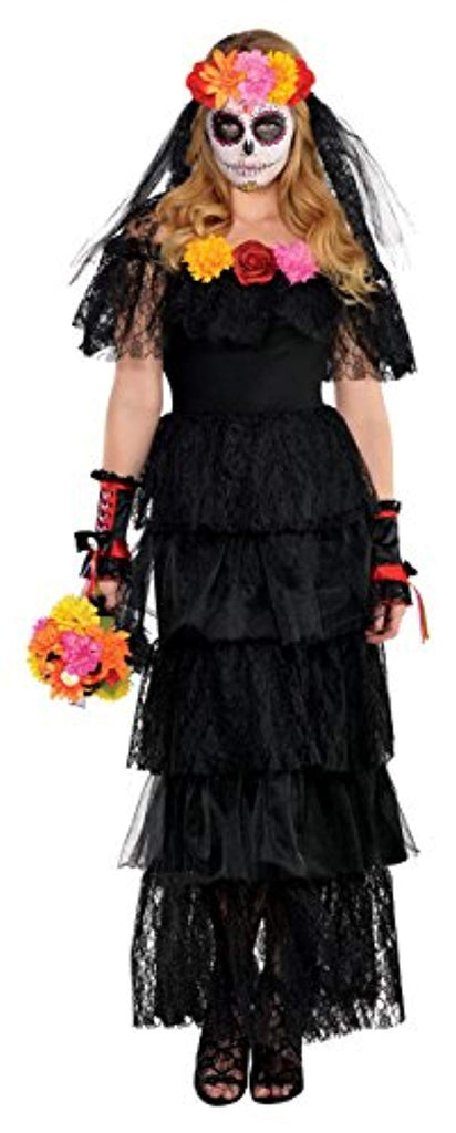 Day of the Dead Dress Adult Costume - Standard