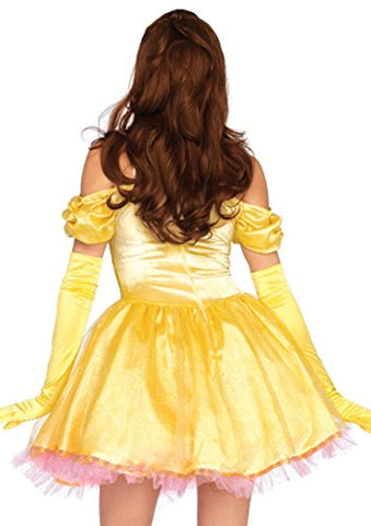 Leg Avenue Womens 3 Pc Enchanting Princess Beauty Costume