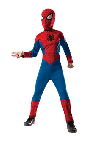 Rubie's Marvel Ultimate Spider-Man 2-in-1 Reversible Spider-Man / Venom Costume, Child Small - Small One Color
