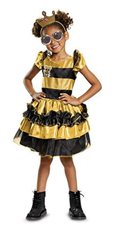 L.O.L. Surprise Child Deluxe Costume LOL Doll Queen Bee