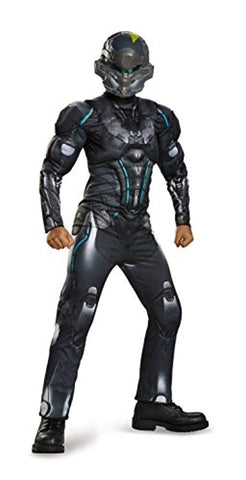 Spartan Locke Classic Muscle Halo Microsoft Costume, Medium/7-8