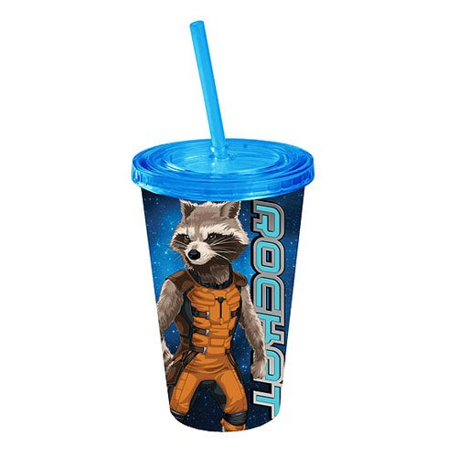 Guardians of the Galaxy Rocket Raccoon Plastic Travel Cup