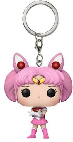 Funko POP Sailor Chibi Moon Collectible Keychain, Pink, White