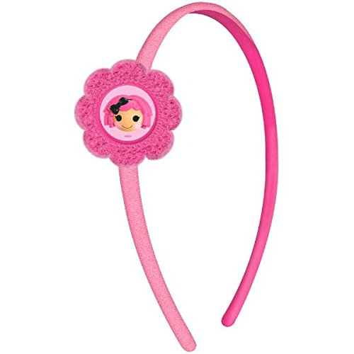 "Adorable Lalaloopsy Birthday Party Headband Wearable Accessory Favour (1 Piece), Pink, 5"" x 3""."