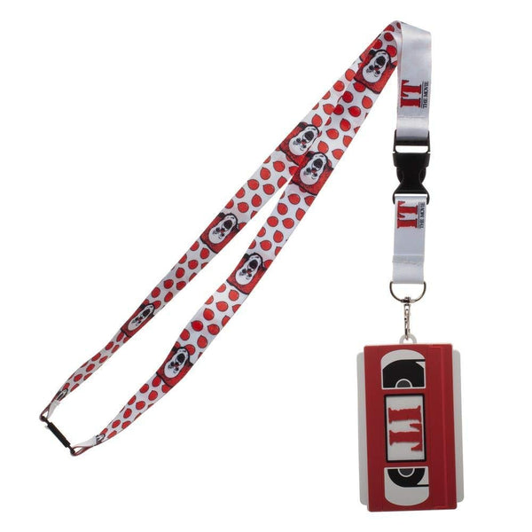 BioWorld Merch Stephen King's IT Video Casette ID Holder Lanyard