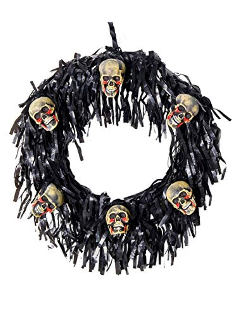 Morbid Enterprises 6 Bloody Mini Skull Wreath