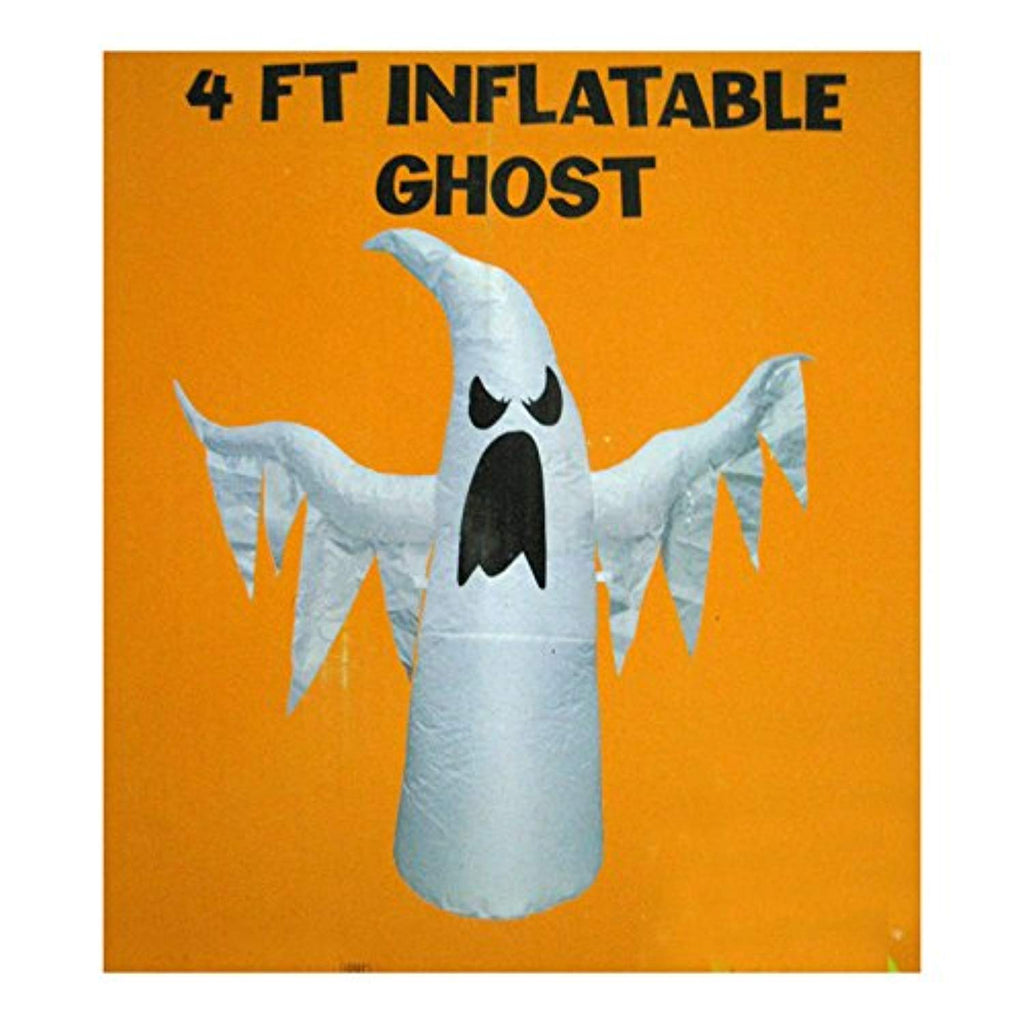 4' Inflatable Ghost Halloween Yard Decoration