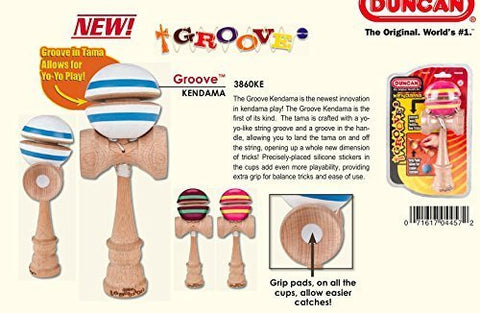 Duncan Groove Kendama Pink and Yellow