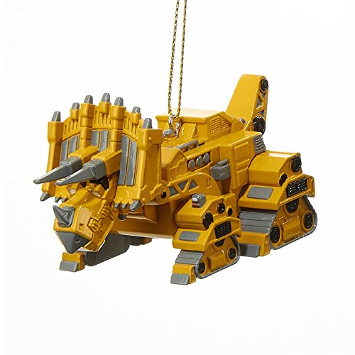 Dino Trux Ornaments (Rhino Yellow)
