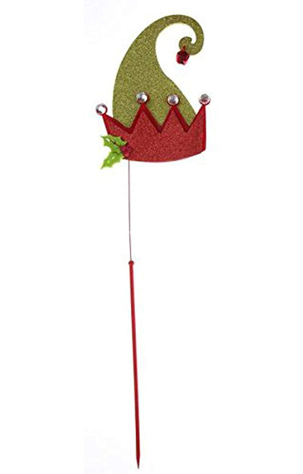 GANZ CHRISTMAS PHOTO PROP GREEN ELF HAT