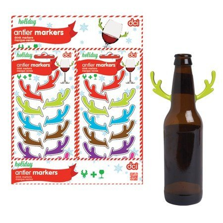 DCI Antler Drink Marker-Set of 6