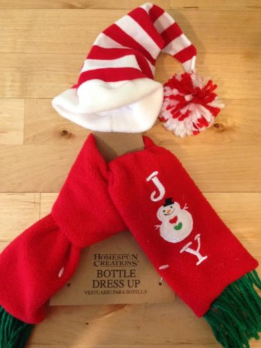 Homespun Creations Bottle Dress Up, Holidays