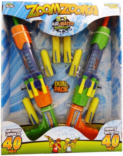 WMU Zoom Zooka 3 In 1 Dual Pack