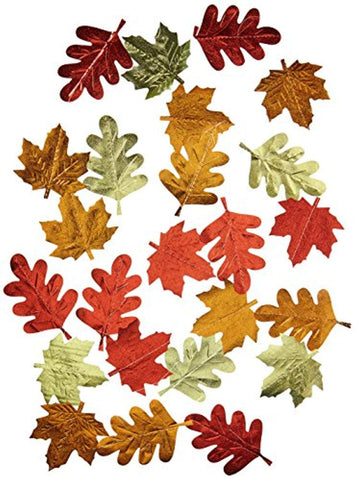 Leaf Foil String Decorations