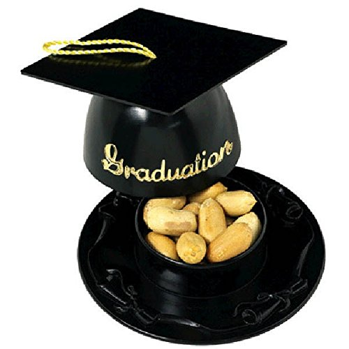 Amscan Mortarboard Nut Cup - Black
