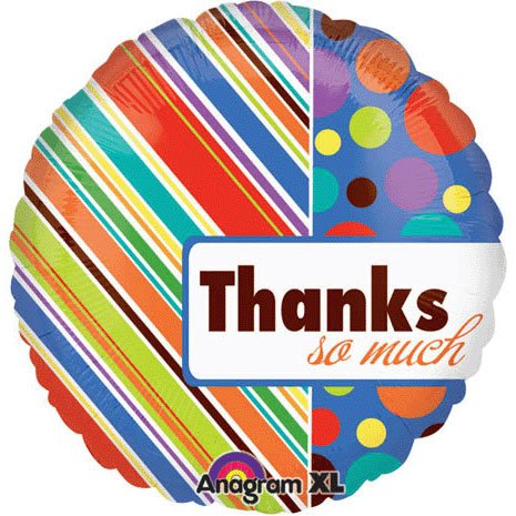 Amscan International Thanks So Much Foil Balloon