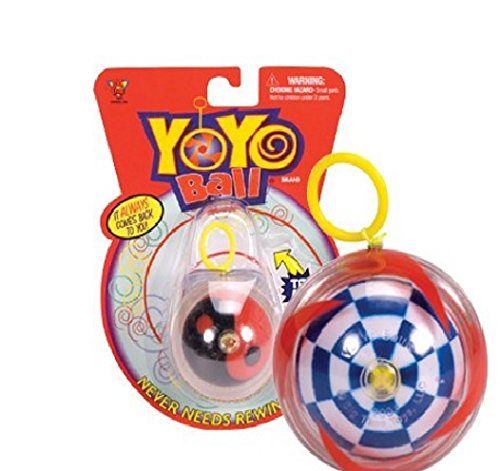 Big Time Toys Yoyo Ball (Styles Will Vary) Handheld Pack of 2