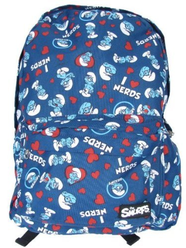 Prime Loungefly The Smurfs Brainy Smurf I Love Nerds Backpack Travel School Blue Camellatalisay Diy Chair Ideas Camellatalisaycom
