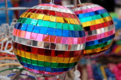 "2"" Rainbow Mirror Disco Ball"