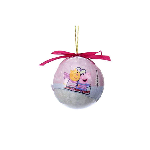 Peppa Pig Ball Ornaments