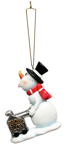 Crooked Snowman Ornament