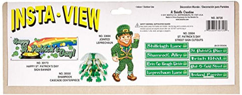 St Patrick's Day Insta-View Party Accessory (1 count) (1/Pkg)
