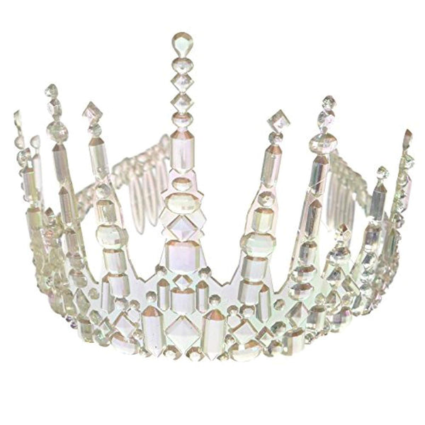 Adults Womens Icicle Crown Tiara Fancy Dress Accessory by Amscan