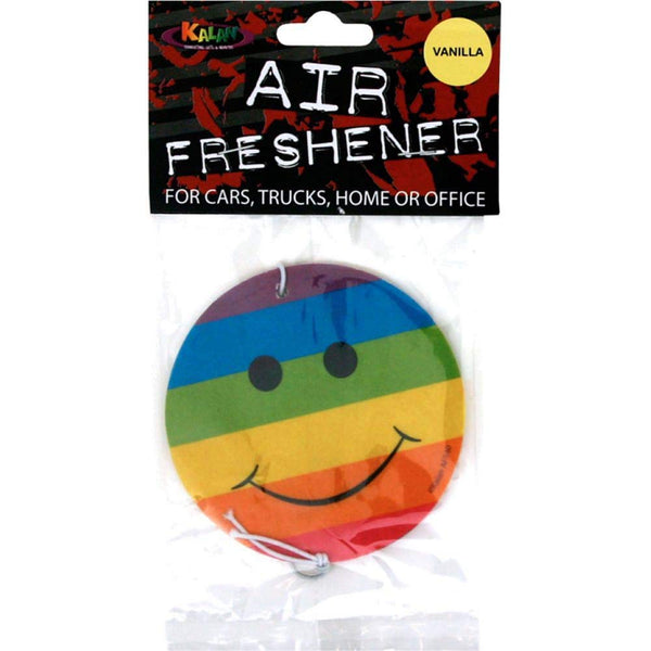 Rainbow Smiley - Air Freshener