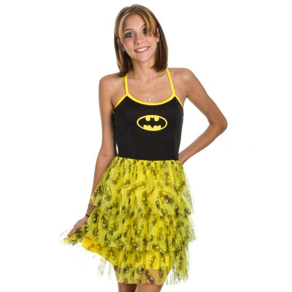 Batman Mini Skirt Dress
