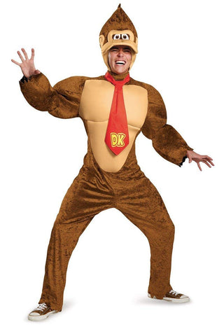 Disguise Men's Super Mario Donkey Kong Deluxe Costume