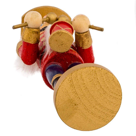 Kurt Adler Wooden Nutcracker Ornament 4-Piece Box Set, 5-Inch