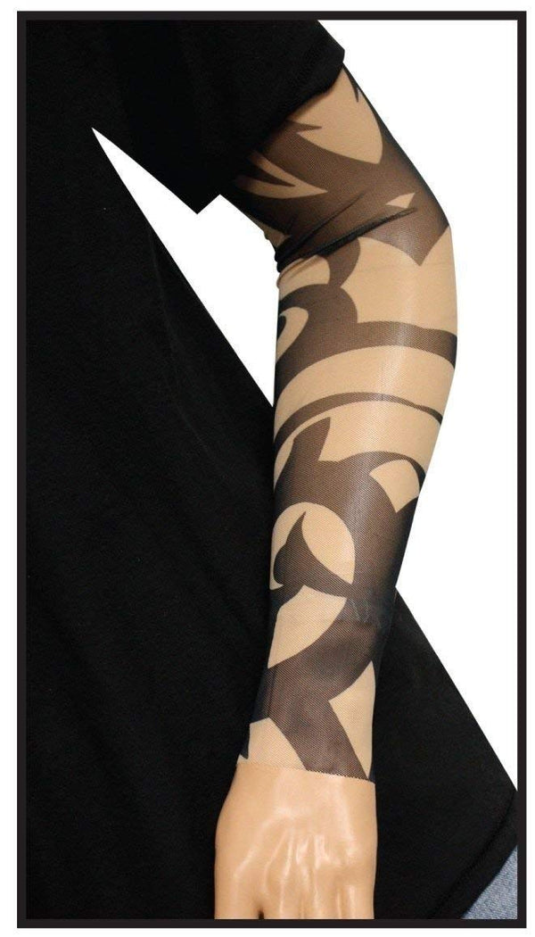 Thick Tribal Tattoo Sleeve