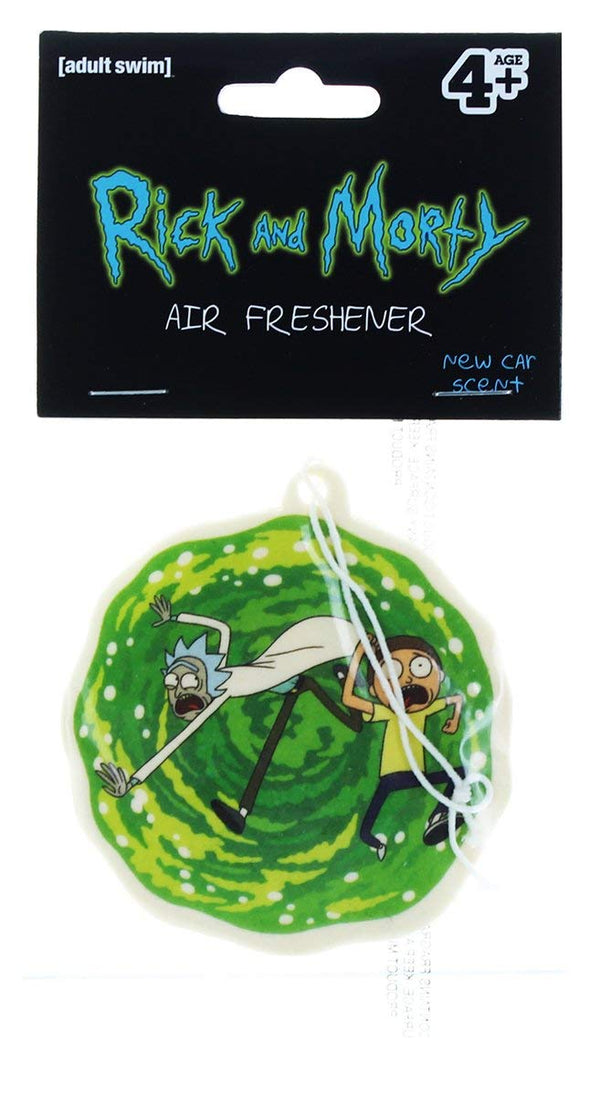 Hot Properties Rick and Morty - Portal Air Freshener