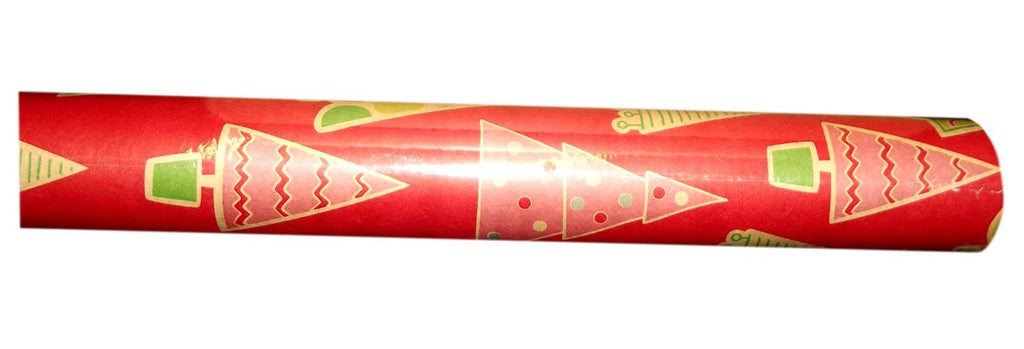 ECO CHRISTMAS TREES JUMBO GIFT WRAP ROLL
